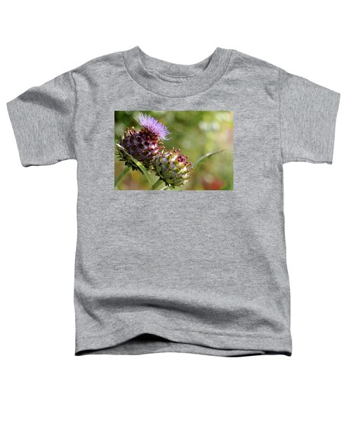 Mr And Mrs Thistle  Toddler T-Shirt by Jeremy Lavender Photography