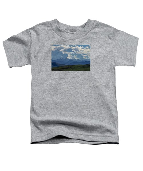 Denali Toddler T-Shirt by Gary Lengyel