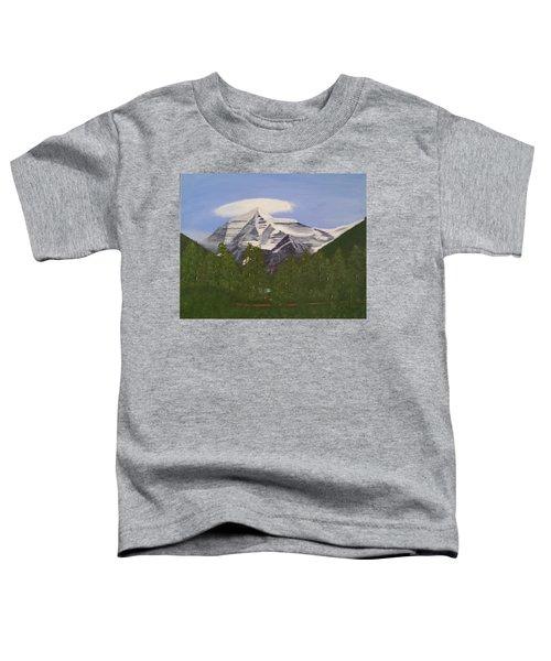 Mt. Robson, Bc Toddler T-Shirt