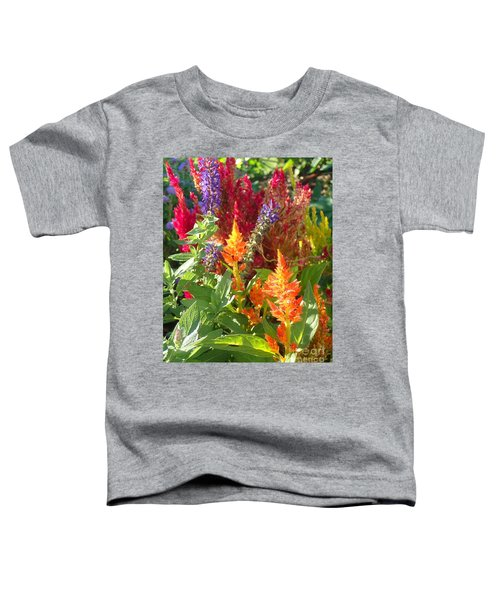 Multi-color Energy Toddler T-Shirt