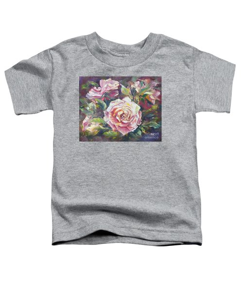 Multi-hue And Petal Rose. Toddler T-Shirt