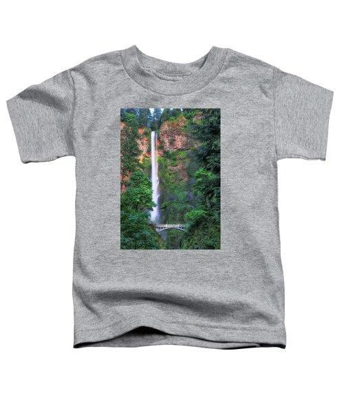 Multnomah Falls Portland Oregon Toddler T-Shirt