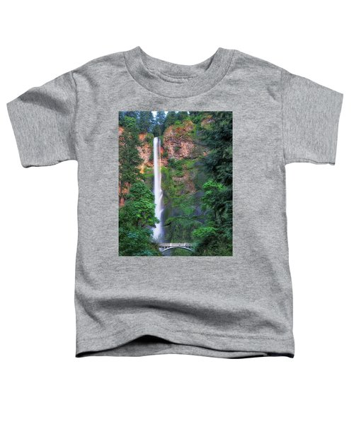 Multnomah Falls Portland Oregon Toddler T-Shirt