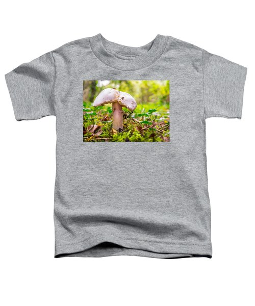 Mushroom Toddler T-Shirt