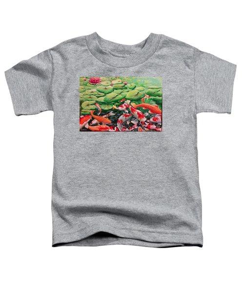 My Backyard Pond Toddler T-Shirt
