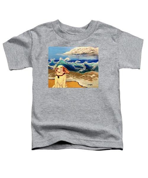 My Dog And The Sea #1 - Beagle Toddler T-Shirt