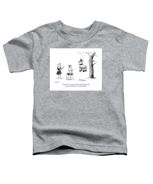 My Friend Susie Here Shes A Little Crazy Toddler T-Shirt