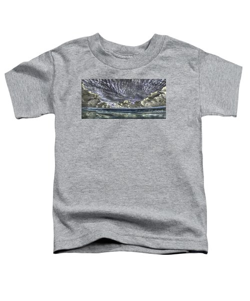 Myrtle Beach Hand Tinted Panorama Sunrise Toddler T-Shirt