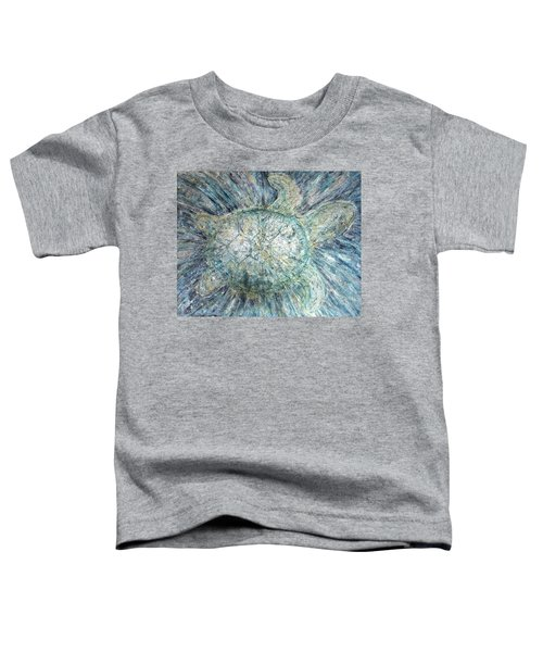 Mystical Sea Turtle Toddler T-Shirt