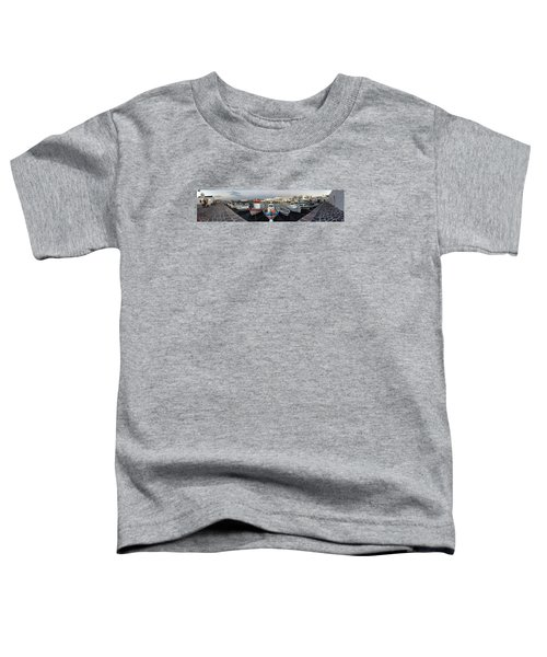 Toddler T-Shirt featuring the photograph Naoussa Village Island Greece by Colette V Hera  Guggenheim