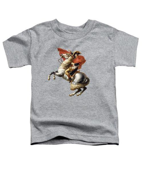 Napoleon Bonaparte On Horseback Toddler T-Shirt