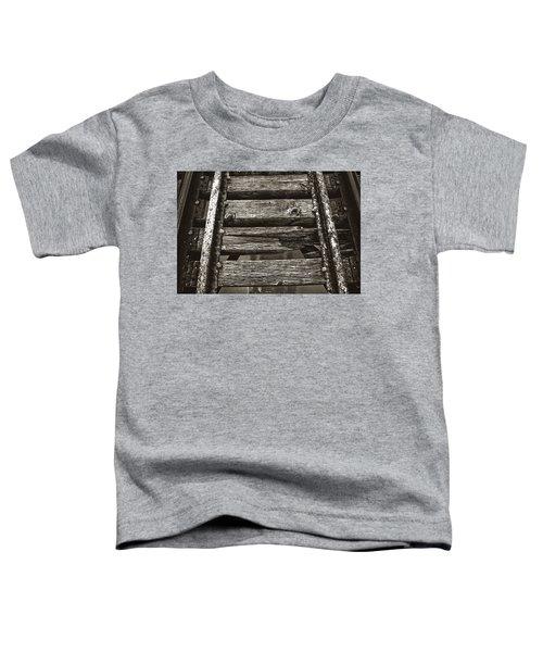 Narrow Gauge Tracks #photography #art #trains Toddler T-Shirt