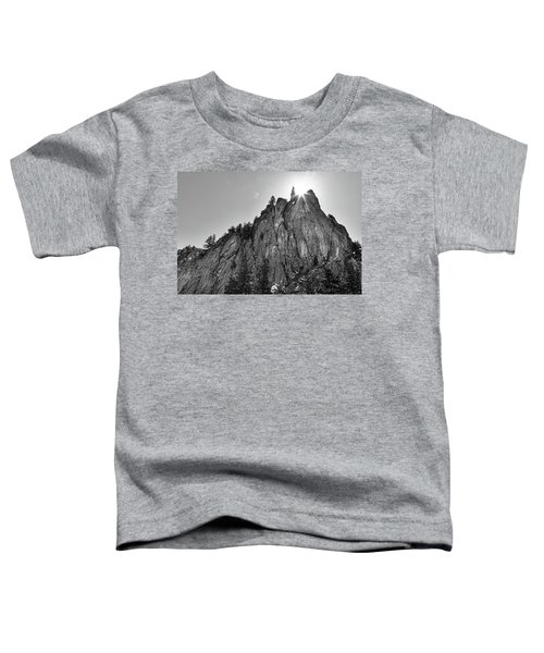 Toddler T-Shirt featuring the photograph Narrows Pinnacle Boulder Canyon by James BO Insogna