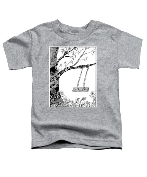 Nature Is Calling Come Out And Play Toddler T-Shirt
