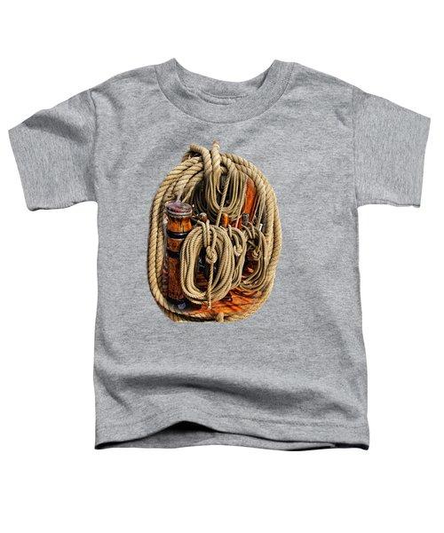 Nautical Knots 16 Toddler T-Shirt