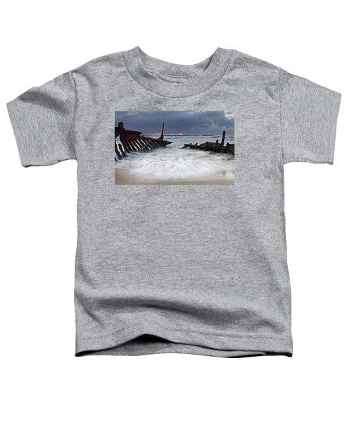 Nautical Skeleton Toddler T-Shirt