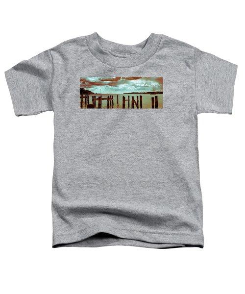 Naval Academy Sailing School Toddler T-Shirt