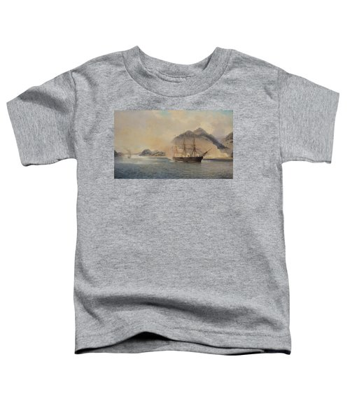 Naval Battle Of The Strait Of Shimonoseki Toddler T-Shirt