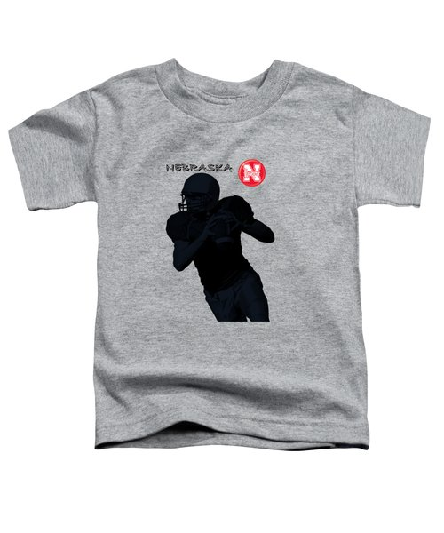 Nebraska Football Toddler T-Shirt