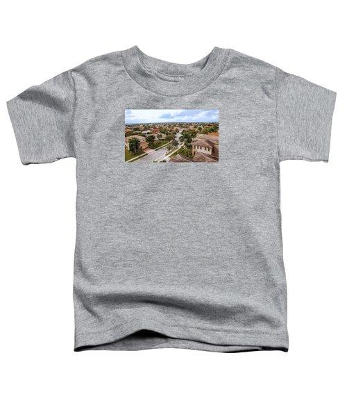 Neighborhood Aerial Toddler T-Shirt