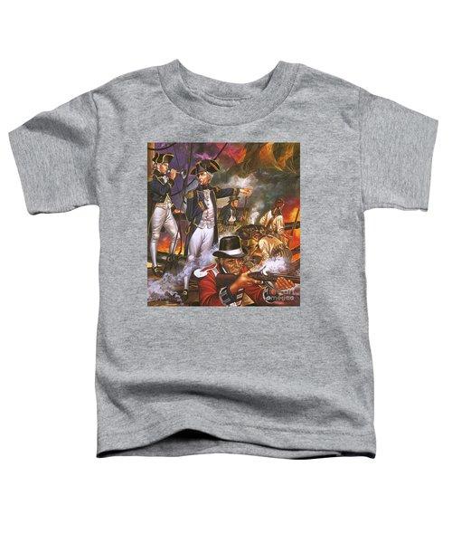 Nelson In The Battle Of Trafalgar Toddler T-Shirt