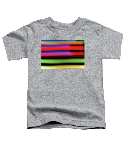 Neon Stripe Toddler T-Shirt