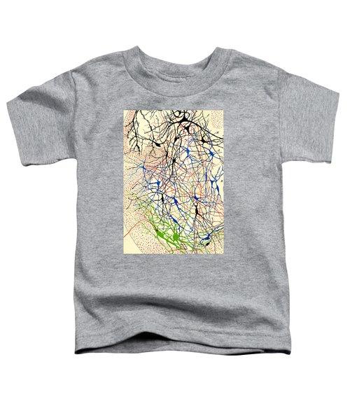Nerve Cells Santiago Ramon Y Cajal Toddler T-Shirt