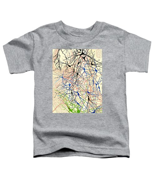 Nerve Cells Santiago Ramon Y Cajal Toddler T-Shirt
