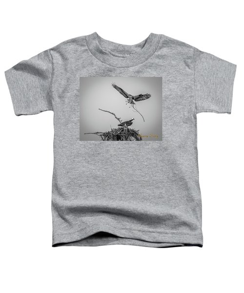 Nest Building 2m Toddler T-Shirt