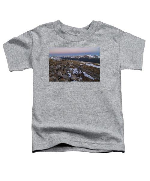 Never Summer Range Toddler T-Shirt