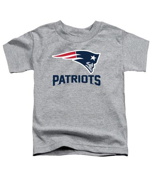 New England Patriots Translucent Steel Toddler T-Shirt