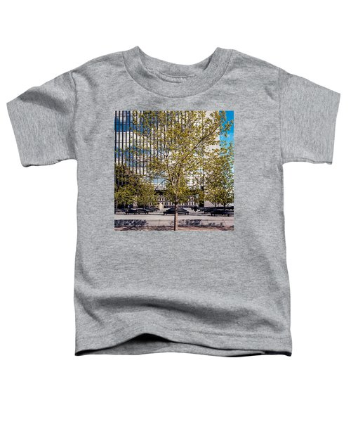 Trees On Fed Plaza Toddler T-Shirt