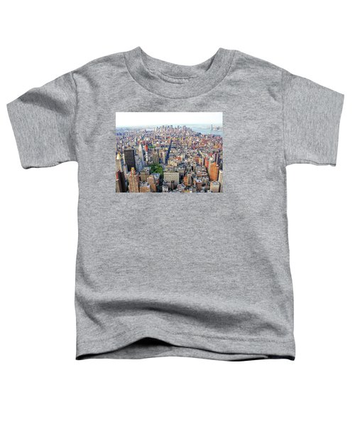 New York Aerial View Toddler T-Shirt