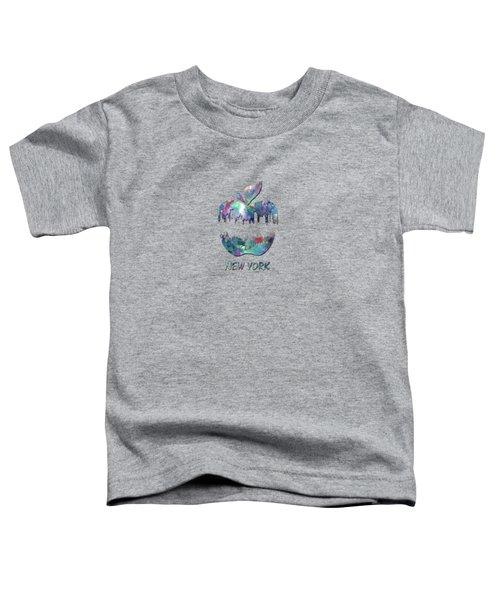 new York apple  Toddler T-Shirt