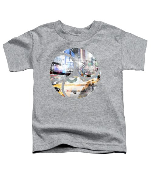 New York City Geometric Mix No. 9 Toddler T-Shirt by Melanie Viola