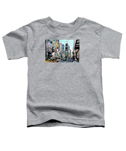 New York Times Square Toddler T-Shirt