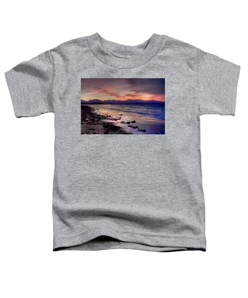 Newborough Sunrise Toddler T-Shirt