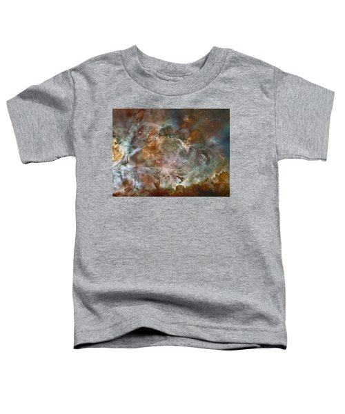Ngc 3372 Taken By Hubble Space Telescope Toddler T-Shirt