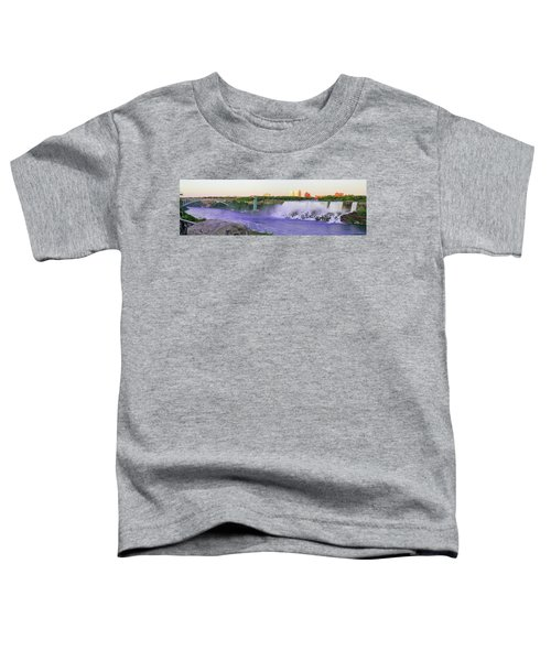 Niagara Falls At Dusk Toddler T-Shirt