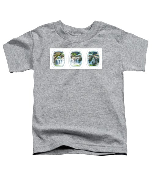 Niagara Falls Porthole Windows Toddler T-Shirt