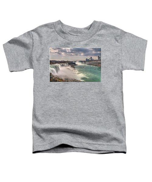 Niagra Waterfalls Toddler T-Shirt