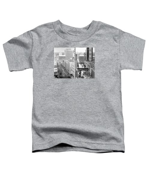 Nicollet Mall From Dayton's 12th Floor Toddler T-Shirt
