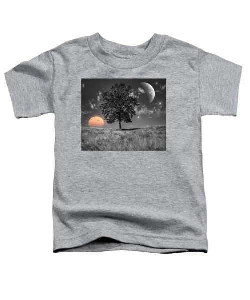 Night And Day Toddler T-Shirt