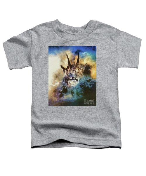 Night Of The Demon, Vintage Horror Toddler T-Shirt