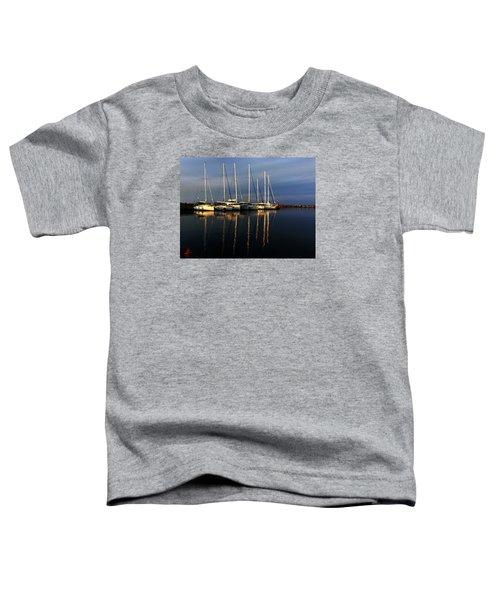 Night On Paros Island Greece Toddler T-Shirt