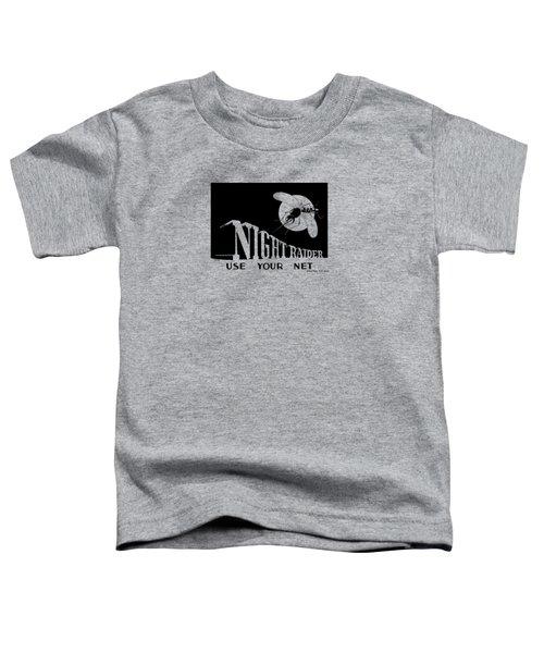 Night Raider Ww2 Malaria Poster Toddler T-Shirt