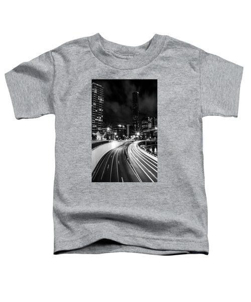 Night Time In The City  Toddler T-Shirt