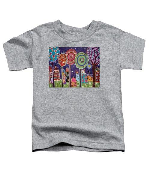 Night Village Toddler T-Shirt