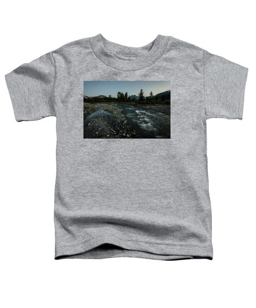 Nightfall In Montana Toddler T-Shirt