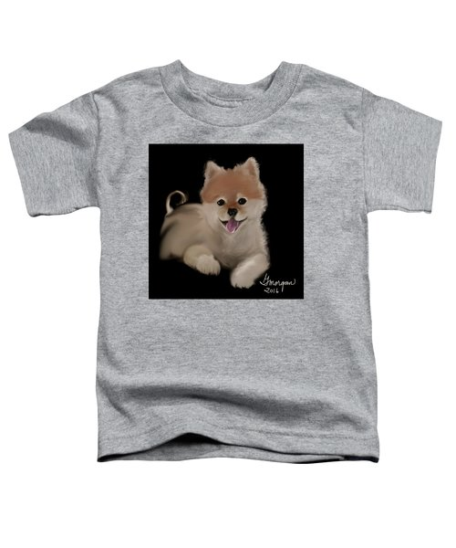 Toddler T-Shirt featuring the digital art Nik by Gerry Morgan